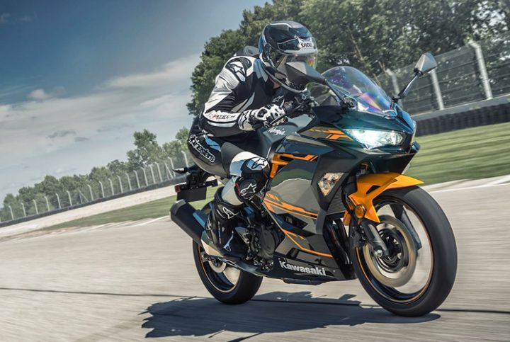 Ninja 400 de Kawasaki, une moto légère et performante