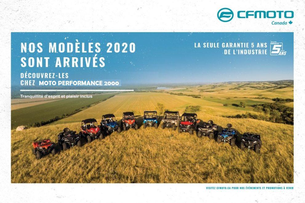 MODELE 2020 CF MOTO