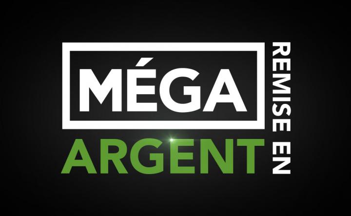 MÉGA REMISE EN ARGENT